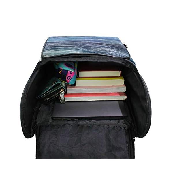 DXG1 - Zaino per donne e uomini, ragazzi, balene oceaniche, borsa alla moda, borsa da viaggio, università, casual, per… 4 spesavip