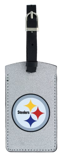 Pittsburgh Steelers Luggage Tag (aminco NFL Pittsburgh Steelers Sparkle Bag Tag)