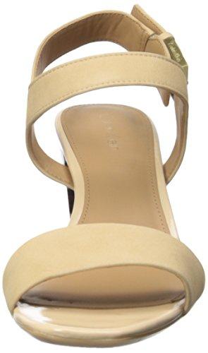 Calvin Klein Cimi Bloque de la sandalia de tacón Sandstrom