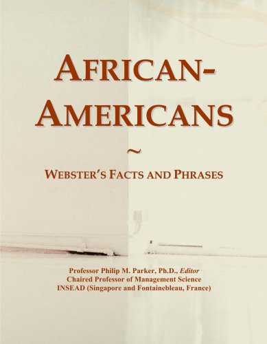 Read Online African-Americans: Webster's Facts and Phrases PDF