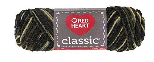 Red Heart Classic Yarn, - Yarn Camo