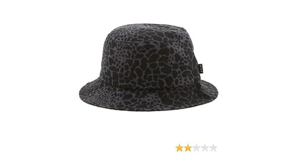 58e88f93c2f Amazon.com  HUF Men s Shell Shock Camo Bucket Hat Small Black  Clothing
