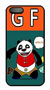 iCustomonline the Kung Fu Panda Designs Case For iPhone 5 5S PC Material Black