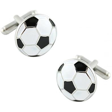 MasGemelos - Gemelos Balón de Fútbol Cufflinks: Amazon.es: Joyería