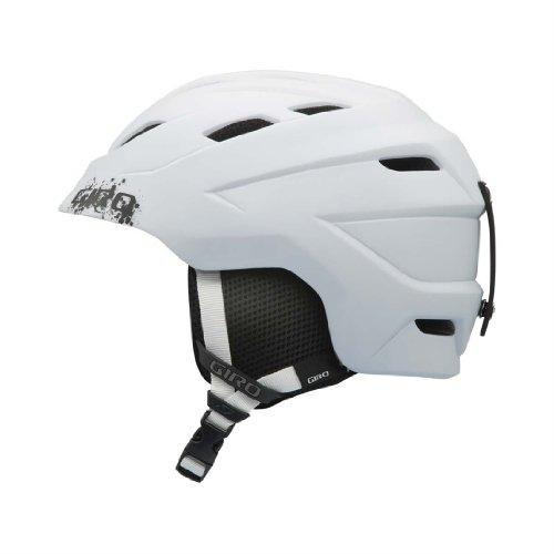Giro Nine.10 Jr Helmet - Giro Youth Nine.10 Jr Snow Helmet (Matte White, Small)