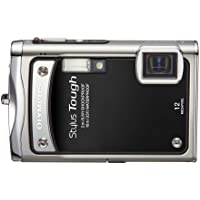 Olympus Stylus Tough-8000 12 MP Digital Camera with 3.6x Wide Angle Optical Dual Image Stabilized Zoom and 2.7-Inch LCD (Black) Basic Intro Review Image