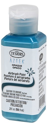 (Testors Airbrush Paint, Opaque Turquoise)