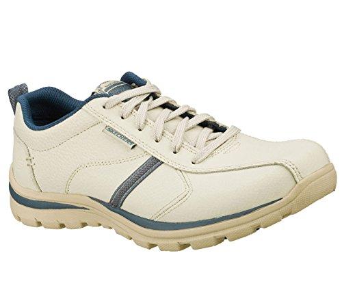 Skechers Mens Superior-levoy Oxford Off White