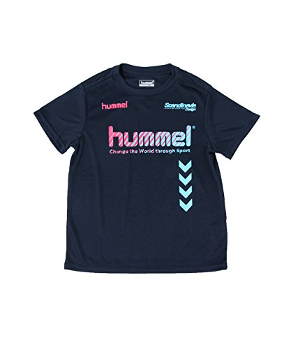 傾いた仮定、想定。推測多数のヒュンメル サッカーウェア 半袖シャツ プラクティス HJP4124HM NV 130