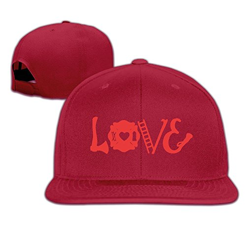 Love Axe Firefighter Flat Brim Adult Driver (Fire Brim Cap)
