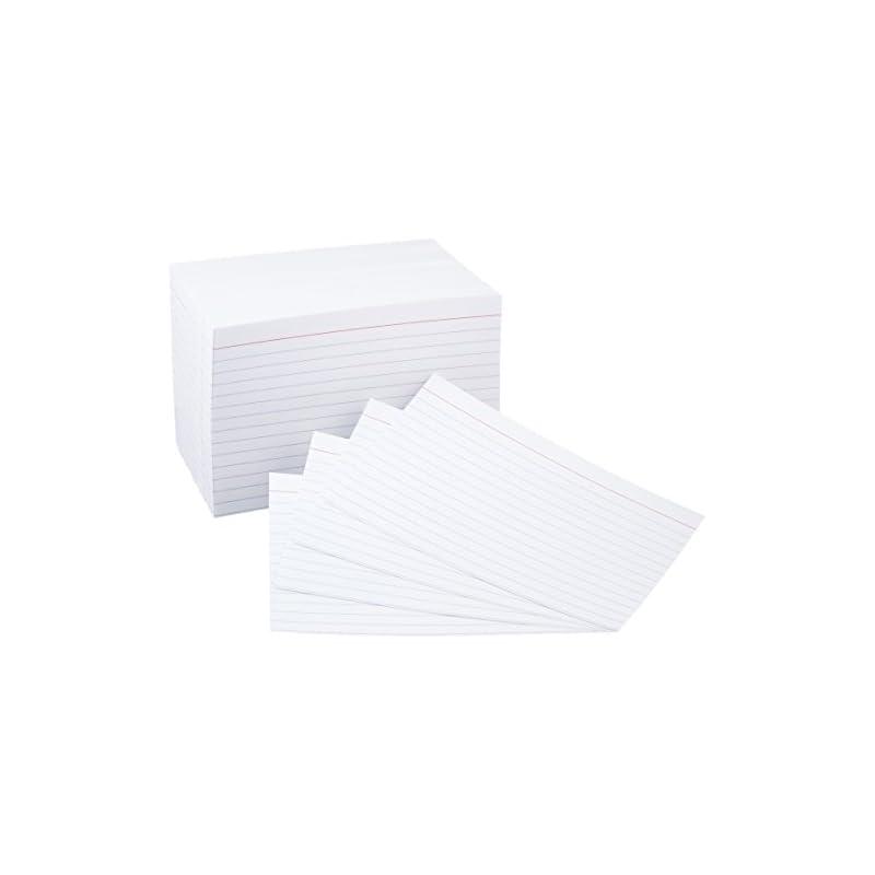 amazonbasics-4-x-6-inch-ruled-white