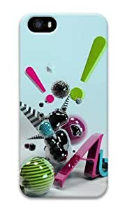 3D abstract art 3D Case iphone 5S cover for Apple iPhone 5/5S