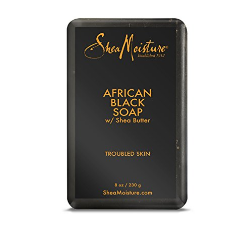 Black African Shea Soap Butter (Shea Moisture African Black Soap With Shea Butter 8 oz)