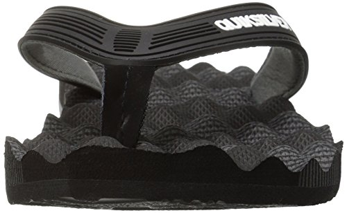 Black Quiksilver Sandal Men Massage Black Grey ggxt7qHrw
