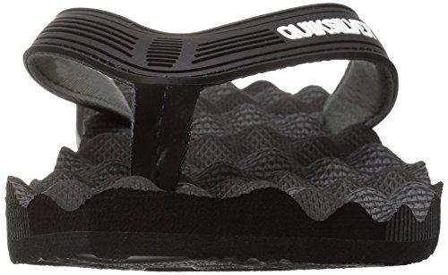 Sandalen Black Grey Massage Herren Quiksilver Black YSBwq81CBx