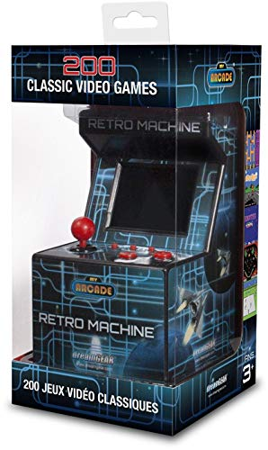 My Arcade Retro Arcade Machine Handheld Gaming System with 200 Built-in Video Games (Fun Tennis Games For 5 Year Olds)
