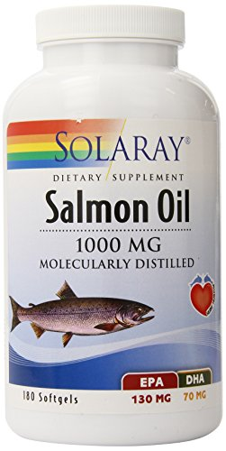 Solaray Salmon Oil, 1000 mg, 180 Count For Sale