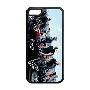 Autographs of Fast and Furious 6 main actors HD image printed custom designer Apple iphone 5 and 5s mobile phone hard case cover