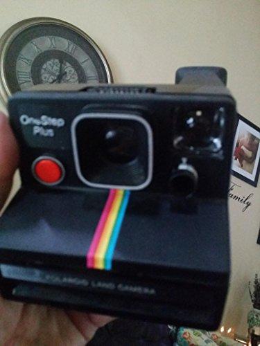 Polaroid OneStep Plus SX-70 Black/Rainbow Land Camera