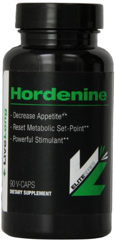 Hordenine HCL-Top Nootropic Supplement Mood Boost, Increased Focus, Boost Energy, Rev up Metabolism, Helps with Weight Loss, Improves Cognitive Function for memory and recall 90 Caps