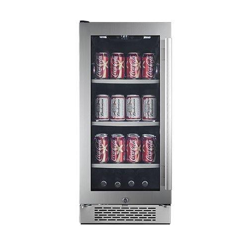 Avallon 86 Can Built-In Beverage Cooler - Left Hinge (Slim Mini Refrigerator compare prices)