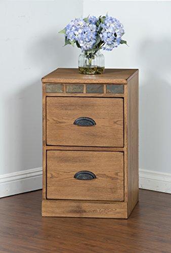 (Sunny Designs 2863RO-F Sedona File Cabinet)