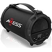 AXESS 2.1 HIFI Bluetooth Speaker with 4 Subwoofer & Vibrating Disk (Red)