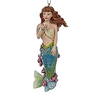 41kZzcgwICL._SS300_ 100+ Mermaid Christmas Ornaments