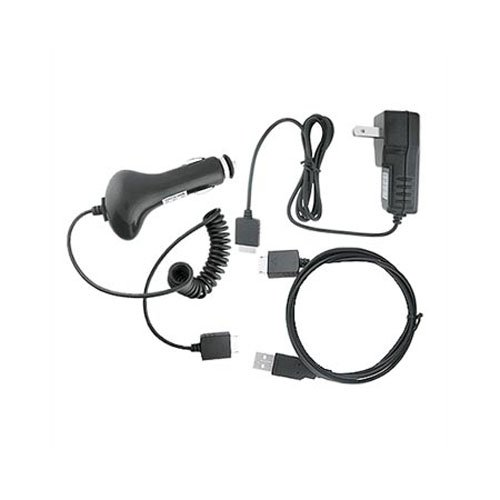 for Sony Walkman NWZ Series A E S USB Cable+Car Wall Home Charger