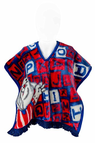chivas-de-guadalajara-soccer-team-plush-baby-poncho-super-soft-for-toddler-age-up-to-5yrs