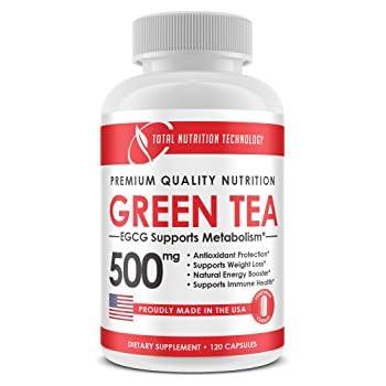 Amazon Com Green Tea Extract 500mg 120 Vegetarian