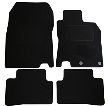 JVL Fully Tailored 4 Piece Car Mat Set with 2 Clips 3298