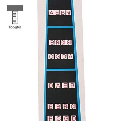 Sala-Fnt - Violin Chart Finger Sticker Guide Intonation