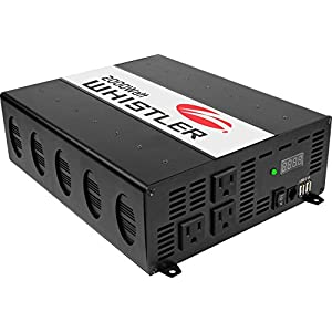 Whistler XP2000i Power Inverter: 2000 Watt Continuous / 4000 Watt Peak Power