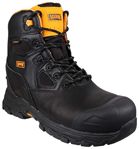 Magnum Barcelona 6.0 Waterproof Work Boots - 7 - Black