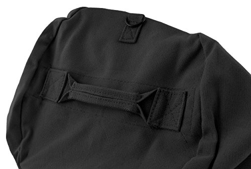 Stansport Deluxe Duffel Bag w/Zipper, Black - 50''X18''X18'' by Stansport (Image #3)
