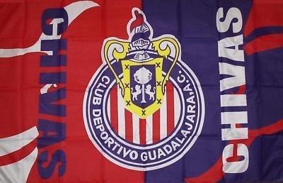 Amazoncom Chivas De Guadalajara Fc Flag 3 X 5 Soccer Club