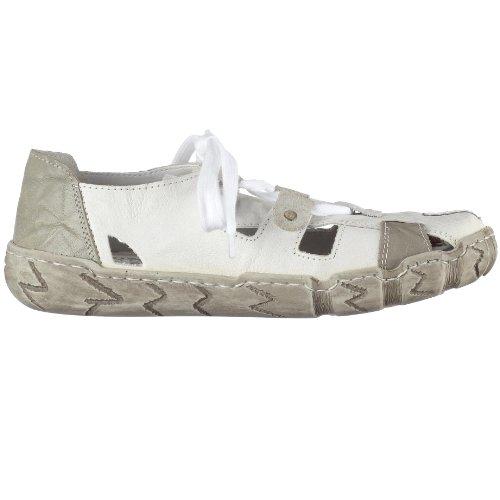 Rieker Hertha L0325-80, Damen Sneaker Weiss Kombi (Weiss/Grey)
