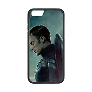 iPhone6s Plus 5.5 inch Phone Case Black captain-americ ZHC2687511