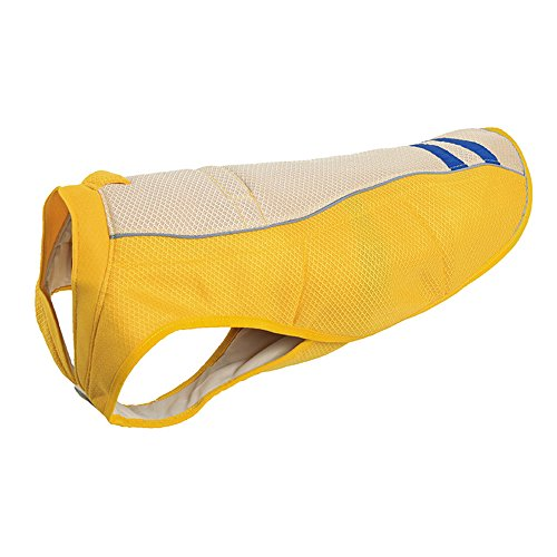 (CONTACTS Cooling Cool Summer Dog Vest Coat Yellow Medium )