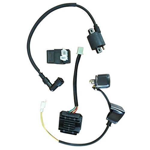 Ignition Relay (Mega Brands New Ignition Coil CDI Regulator Rectifier Relay Kit for 150cc 200cc 250cc Chinese ATV)