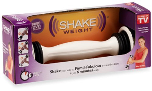 Shake Weight Exercise Weight 2 1/2 Lb. Boxed