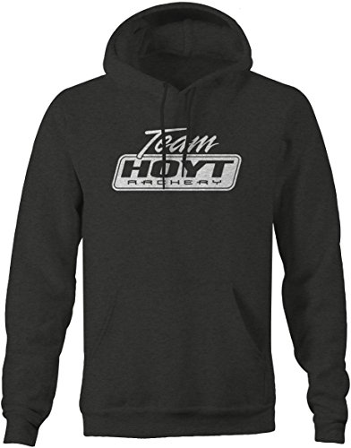 Team Hoyt - CLassic Logo'd Archery Hunting Mens Sweatshirt - Xlarge