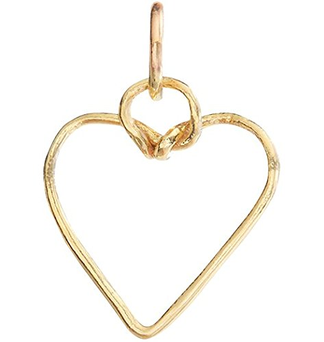 Helen Ficalora Medium Wire Heart Charm