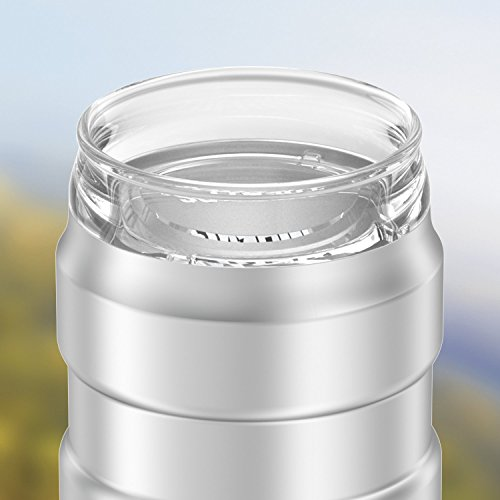 Stainless Steel Thermos Stainless King Can Insulator With 360 Degree Drink Lid