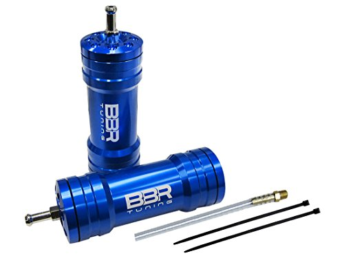 BBR Tuning Motorized Bicycle Boost Bottle Induction Kit - High Performance Gas Bike Accessory (Blue)