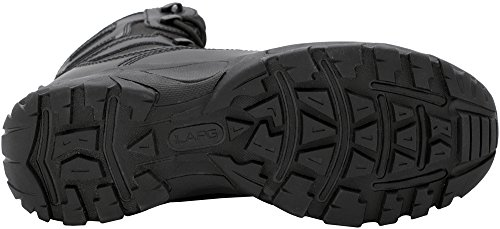 LA Police Gear Classic 8 Composite Toe Duty Boot Black 4Ifj9xhL