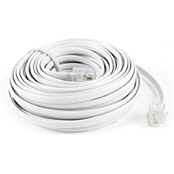 amazon com uxcell rj11 6p2c modular phone cables and wire