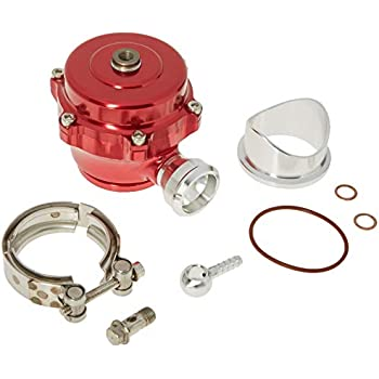 DNA Motoring Red BOV-50MM-T2-RD 50mm Blow-Off-Valve
