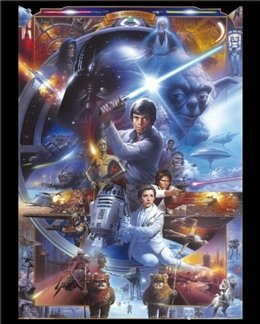 Star Wars   30Th Anniversary 16 X 20 Inches